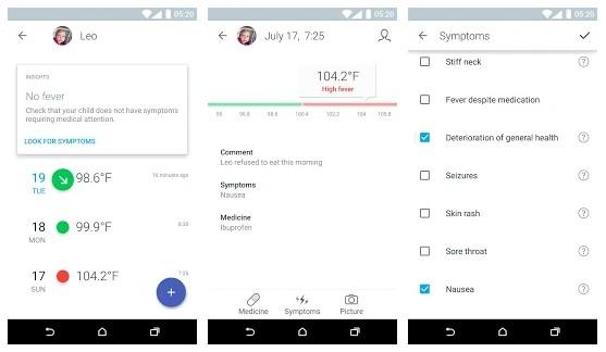 Thermo – Smart Fever Management aplikasi untuk melihat suhu tubuh terbaik untuk android