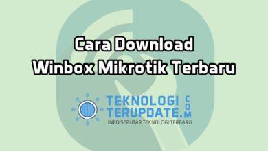 Cara Download Winbox Mikrotik Terbaru